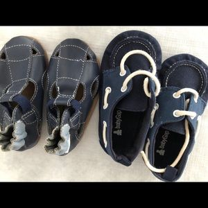 Lot of 2 Baby boy shoes